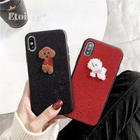 Dog footprint iphone case