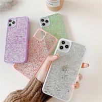 Color glitter iphone case