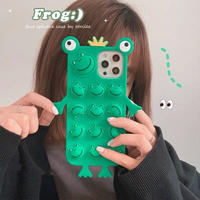 Frog face iphone case