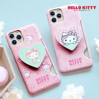 [Sanrio] Hello kitty Icecream heart grip shining card slimfit case