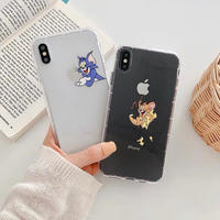 Cheese mouse cat clear  iphone case