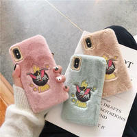 My moon fur iphone case