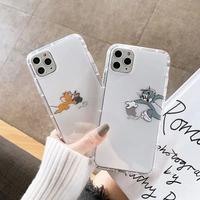 Mouse cat apple heart  iphone case