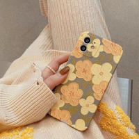 Spring yellow flower iphone case
