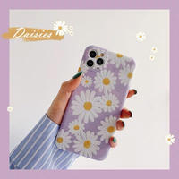 Daisy purple iphone case