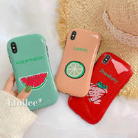 Fruits 3colors iphone case