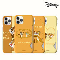 [Disney]  Chip 'n' Dale matt slimfit card case