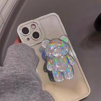Laser bear grip iphone case