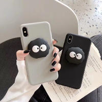 Black monster simple iphone case