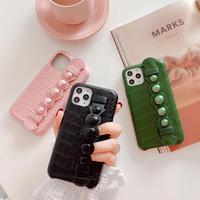 Green Pink Black strap iphone case