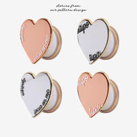 [tipitipo] Gold mirror heart grip
