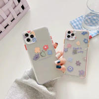 Find a way flower  color side iphone case