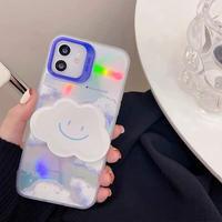 Cloud laser grip iphone case