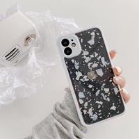 Shell white side iphone case