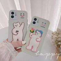 Happy niceday bear iphone case