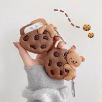 Chocochip bear airpods case