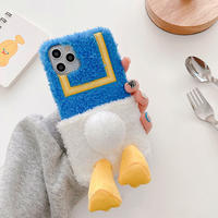 Duck hip fur iphone case
