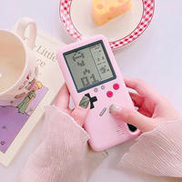 Pink game iphone case