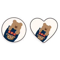 Choco cookie bear  grip for phone 529