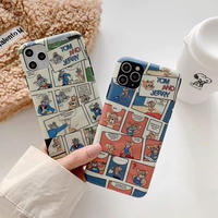Mouse cat cartoon iphone case