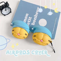 Sleeping cat airpods case