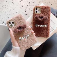 Poodle fur iphone case
