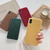 Color corduroy iphone case