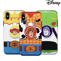 [Disney] Toystory simple clothes grip shining card slide case