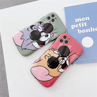 Mouse cat sunglass iphone case