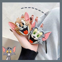 Mouse cat  airpods case