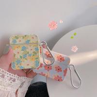 Flower pattern airpods case