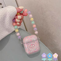 Smile pink airpods case
