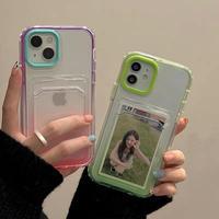 Gradient pocket iphone case