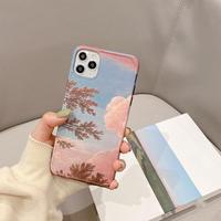 Autumn oil painting iphone case