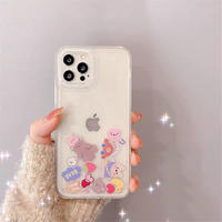 Bear quicksand iphone case