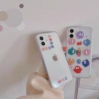 Nice bird clear iphone case