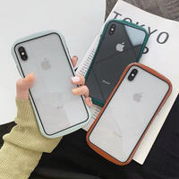Autumn color side iphone case (Green, Grey, Brown, Red)