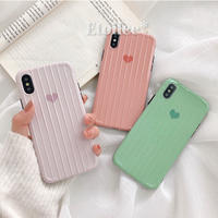 Heart candy color iphone case