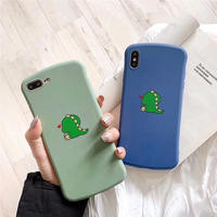 Dinosaur green blue  iphone case