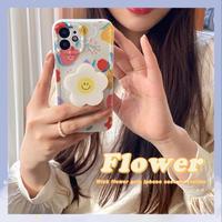 Wink flower grip iphone case