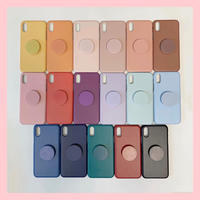 Round color chip case