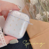 Petite flowers clear airpods case