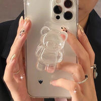 Clear bear grip iphone case