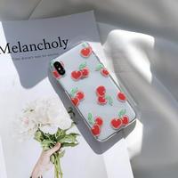 Heart cherry iphone case