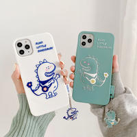 Little dinosaur silicone iphone case