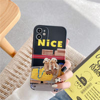 Nice dog cart  iphone case