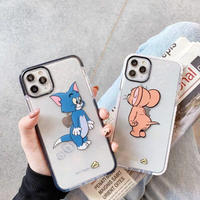 Mouse cat color side iphone case