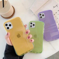 Purple yellow green iphone case