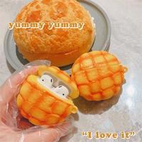Melon bread airpods case