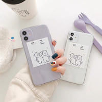 One two three iphone case